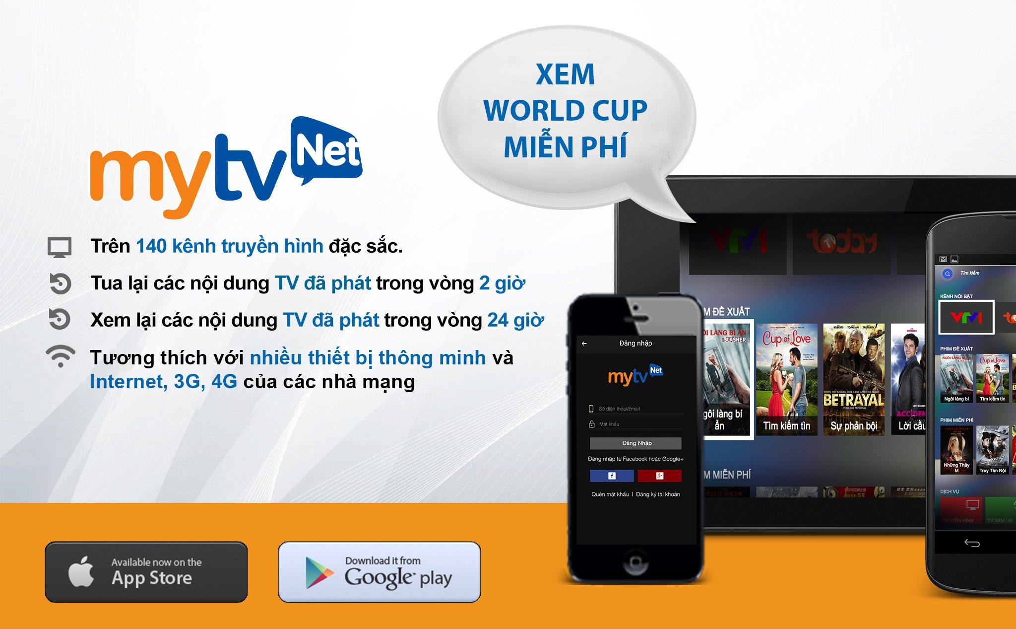 Chào đón những sự thay đổi lớn của truyền hình MyTV