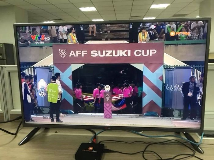 100 triệu đồng là mức phạt cao nhất nếu vi phạm bản quyền Aff cup 2018