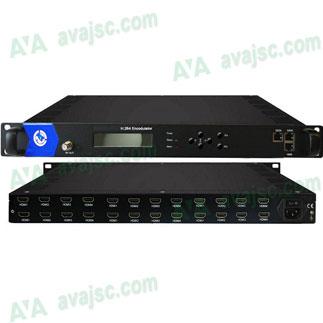 Bộ điều chế số 24 HDMI ra DVB T, DVB C, COL-5011V-24T