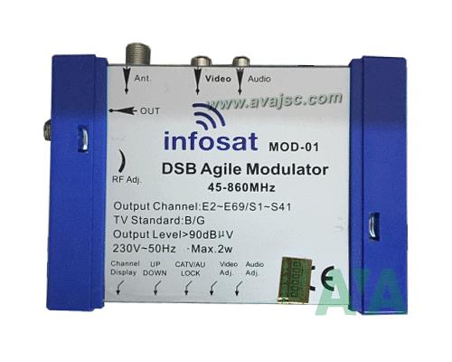 Bộ điều chế tín hiệu INFOSAT MOD 01
