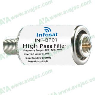 Bộ lọc thông cao Infosat INF-BP01