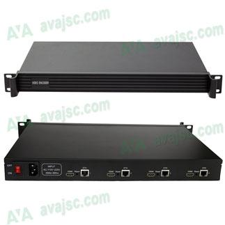 Bộ mã hoá IPTV từ 4 ngõ HDMI, Dùng trong truyền hình IPTV