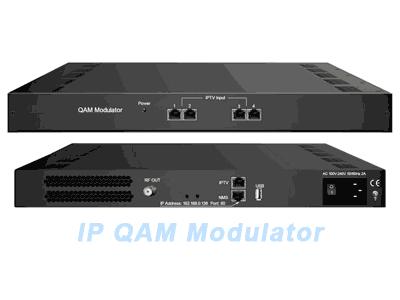 Bộ thiết bị điều chế số QAM 3344C IP QAM Modulator