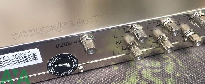 Bộ trộn tín hiệu RF Bộ trộn kênh DVB Winersat Infosat 16