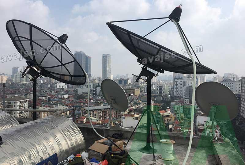 Cung cấp Anten Parabol Comstar 7.2m