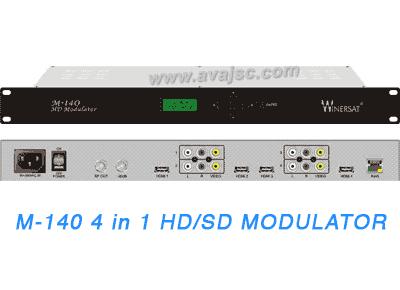 Điều chế tín hiệu số DVB-T, DVB-C Winersat M-140