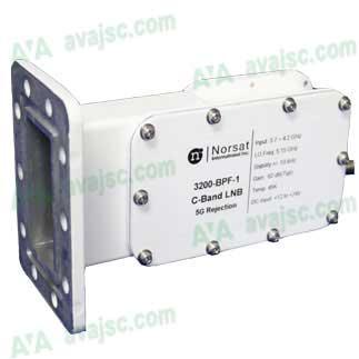 LNB Norsat 3200F-BPF-1 - LNB C band bao gồm bộ lọc nhiễu 5G