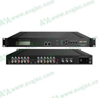 Mã hoá tín hiệu 4 S-Video / YPbPr / CVBS / MPEG 2 ra IP và ASI