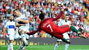 TOP những bàn thắng đẹp nhất vòng loại World Cup 2018