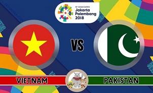 Việt Nam đại thắng ngày ra quân tại ASIAD 2018 - Việt Nam vs. Pakistan