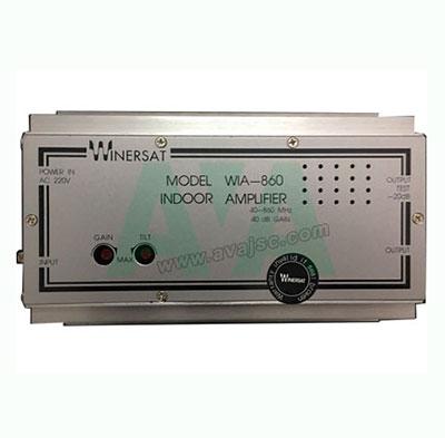 Winersat WIA 860 bộ khuếch đại tín hiệu truyền hình cáp 40 dB